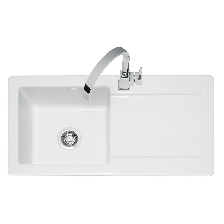 Caple Foxboro 100 Ceramic Single Bowl Sink Sinks Taps Com