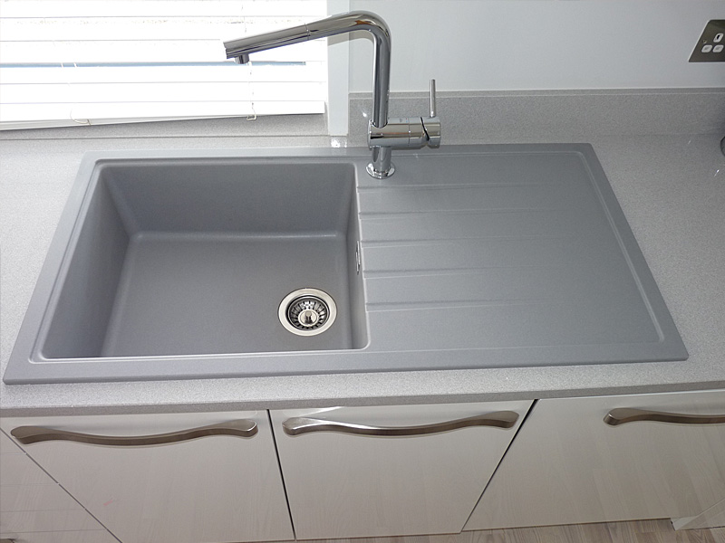 Gray Granite Sink Ideas. Kitchen Sink And Tap Inspiration Sinks Taps Com