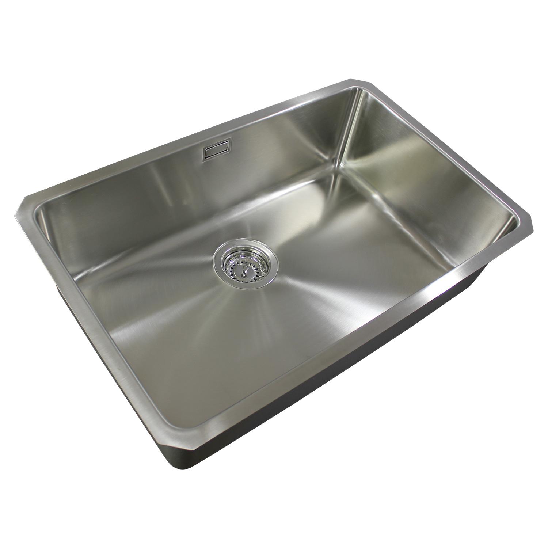 Bluci ORBIT 25 Large Bowl Undermount Sink