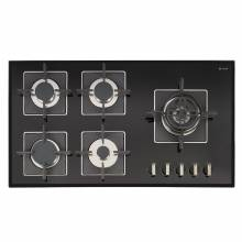 Caple C880GBK SENSE Gas on Glass Hob