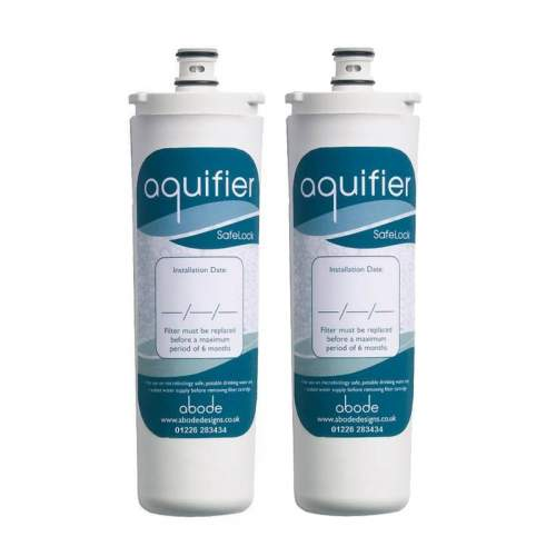 Abode AT2002 Aquifier Filter Cartridge Twin Pack