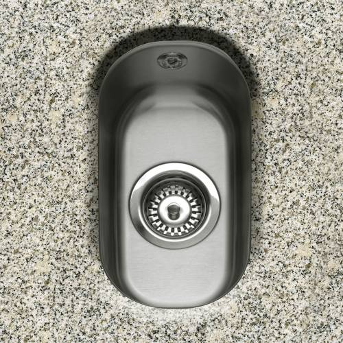 Caple FORM 17 Undermount Half Bowl Sink