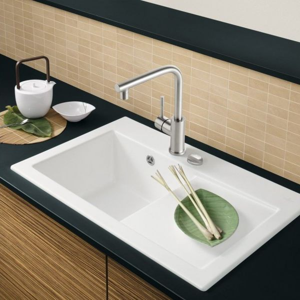 villeroy and boch sinks kitchen villeroy amp boch subway 45 classic line sinks taps 8819