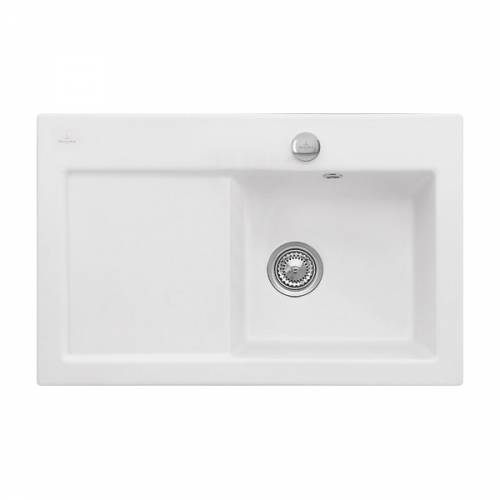 Villeroy & Boch SUBWAY 45 1.0 Bowl Sink - Classic Line - 6714-00-S3