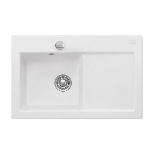 Villeroy & Boch SUBWAY 45 1.0 Bowl Sink - Classic Line - 6772-00-S3