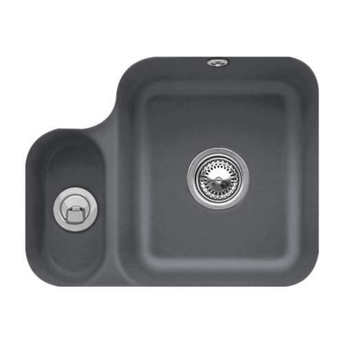 Villeroy & Boch CISTERNA 60B 1.5 Bowl Undermount Sink - Classic Line - 6702-00-I4