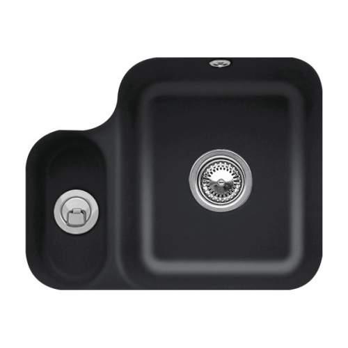 Villeroy & Boch CISTERNA 60B 1.5 Bowl Undermount Sink - Premium Line - 6702-00-S5