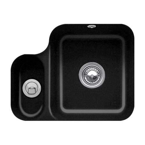 Villeroy & Boch CISTERNA 60B 1.5 Bowl Undermount Sink - Premium Line - 6702-00-JO