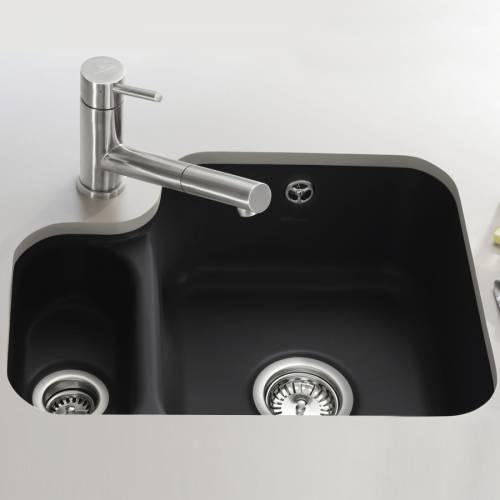 Villeroy & Boch CISTERNA 60B 1.5 Bowl Undermount Sink - Premium Line