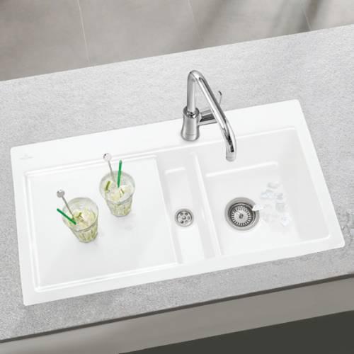 Villeroy & Boch SUBWAY 50 1.5 Bowl Sink - Classic Line