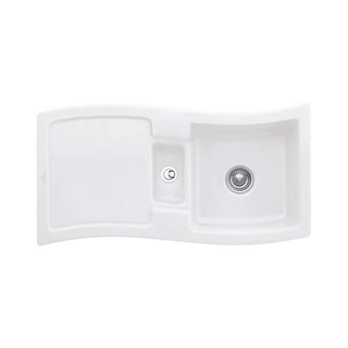 Villeroy & Boch NEW WAVE 60 1.5 Bowl Sink - Classic Line 6716-00-S3