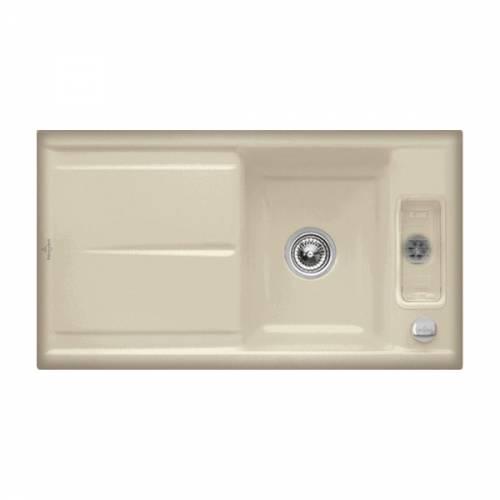 Villeroy & Boch LAOLA 50 1.25 Bowl Sink - Classic Line 6778-00-i2