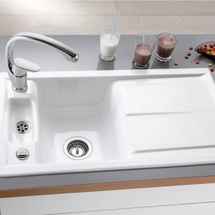 Villeroy & Boch LAOLA 50 1.25 Bowl Sink - Classic Line