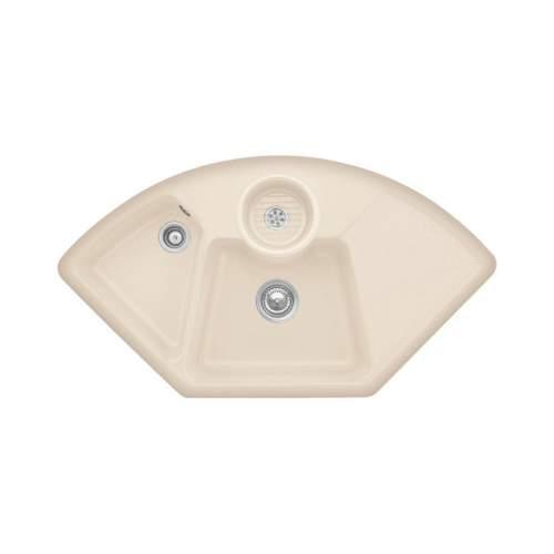 Villeroy & Boch  SOLO CORNER 2.5 Bowl Sink - Classic Line 6708-00-I2