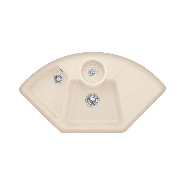 Villeroy Amp Boch Solo Corner 2 5 Bowl Sink Sinks Taps Com