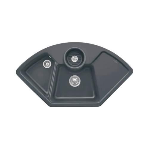 Villeroy & Boch  SOLO CORNER 2.5 Bowl Sink - Classic Line 6708-00-I4
