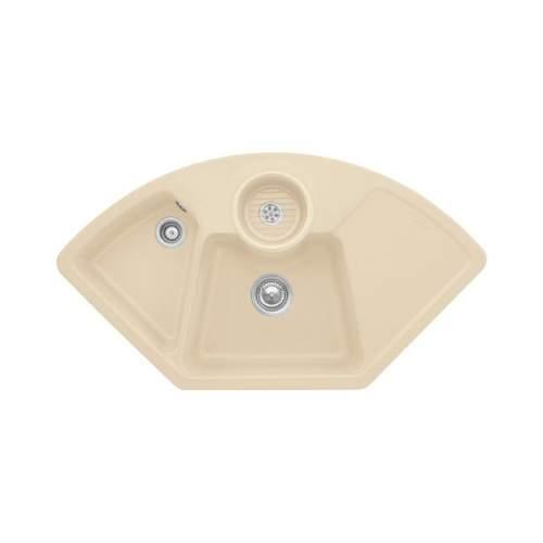 Villeroy & Boch  SOLO CORNER 2.5 Bowl Sink - Classic Line 6708-00-I5