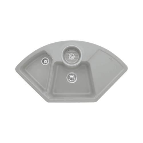Villeroy & Boch  SOLO CORNER 2.5 Bowl Sink - Classic Line 6708-00-KD