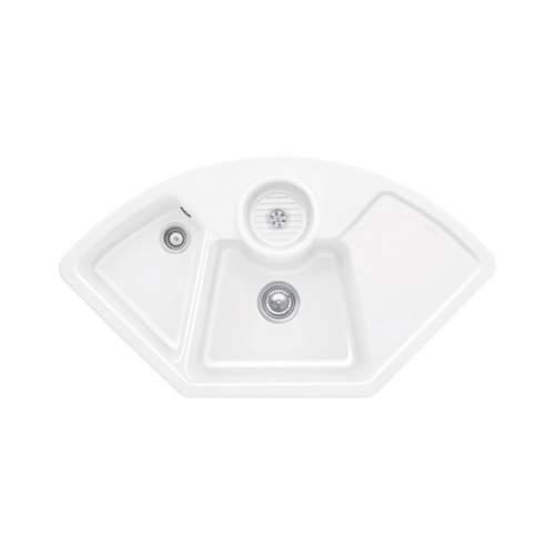 Villeroy & Boch  SOLO CORNER 2.5 Bowl Sink - Classic Line 6708-00-R1