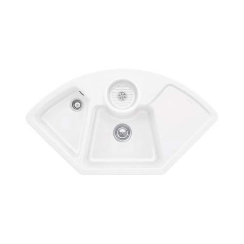 Villeroy & Boch  SOLO CORNER 2.5 Bowl Sink - Classic Line 6708-00-S3