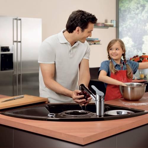 Villeroy & Boch  SOLO CORNER 2.5 Bowl Sink - Classic Line