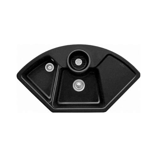 Villeroy & Boch  SOLO CORNER 2.5 Bowl Sink - Premium Line 6708-00-JO