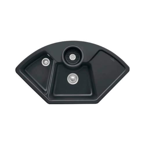 Villeroy & Boch  SOLO CORNER 2.5 Bowl Sink - Premium Line 6708-00-S5