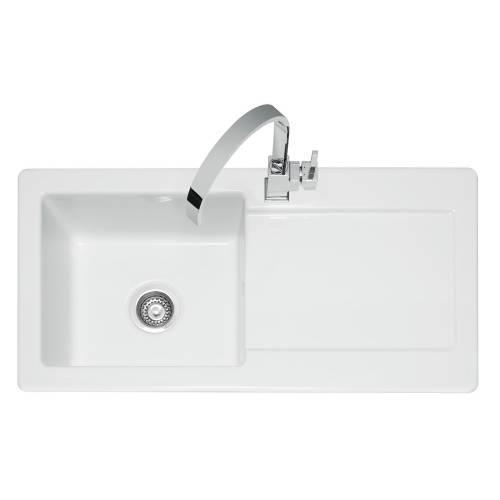Caple Foxboro 100 Ceramic Single Bowl Kitchen Sink