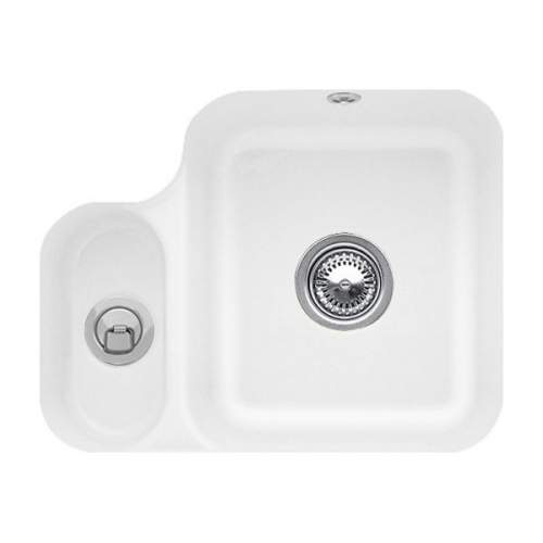 CISTERNA 60B 1.5 Bowl Undermount Sink - Ceramic Line