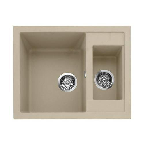 Leesti 150 Inset 1.5 Bowl Sink - Desert Sand