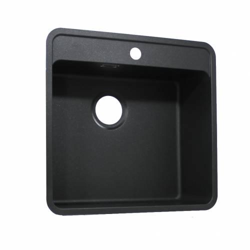 Reginox Regi-Color OHIO 50x40 Single Tapwing Bowl Sink