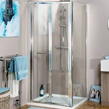 The Aquabro range of Bi-Fold doors for shower enclosure2