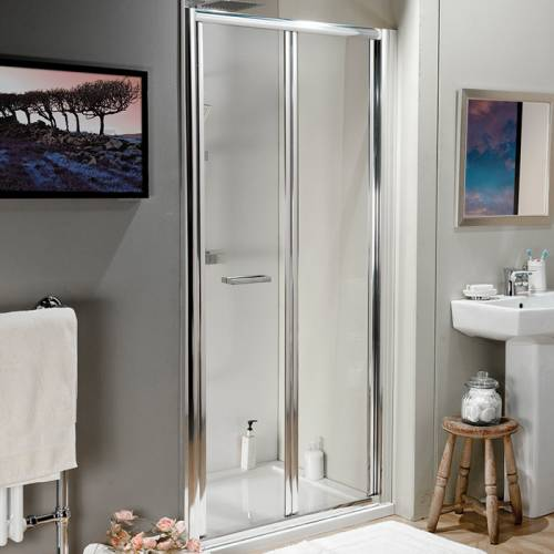 Aquabro 700 Adjustable Bi Fold Shower Door