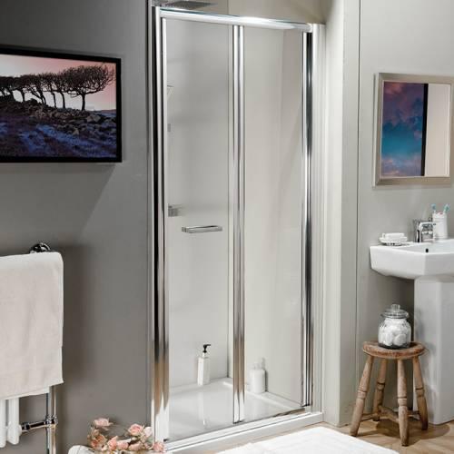 Aquabro 700 Adjustable Bi Fold Shower Door