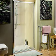 The Aquabro range of Pivot doors for bathroom shower enclosures