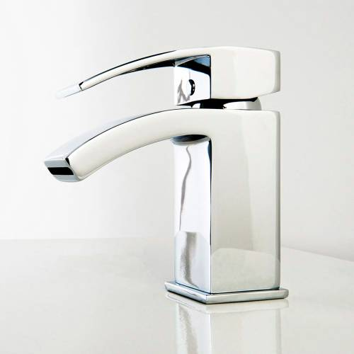 Aquabro PEAK Small Monobloc Bathroom Basin Mixer Tap