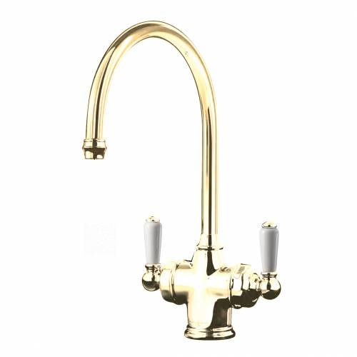 1437 PARTHIAN Filtration Mixer Tap on Gold