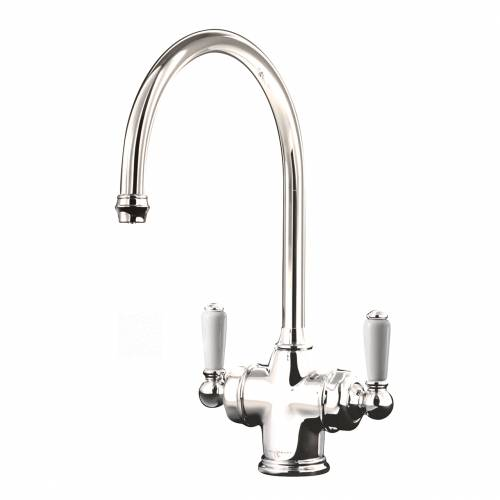 1437 PARTHIAN Filtration Mixer Tap in Nickel