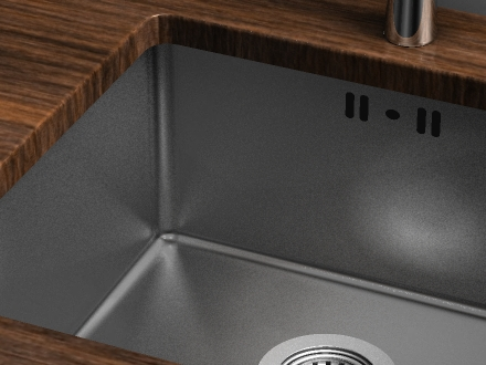 click the image to the left to view the fitting video - Fitting Kitchen Sink