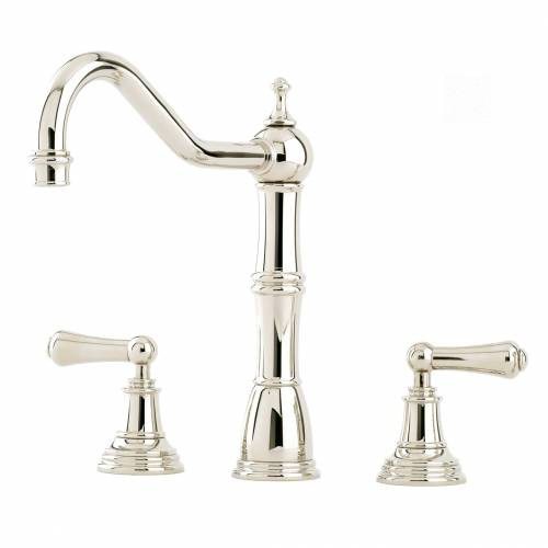 Perrin and Rowe 4771 Alsace Kitchen Tap in Nickel