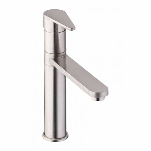 Abode Prime Single Lever Kitchen Tap in Brushed