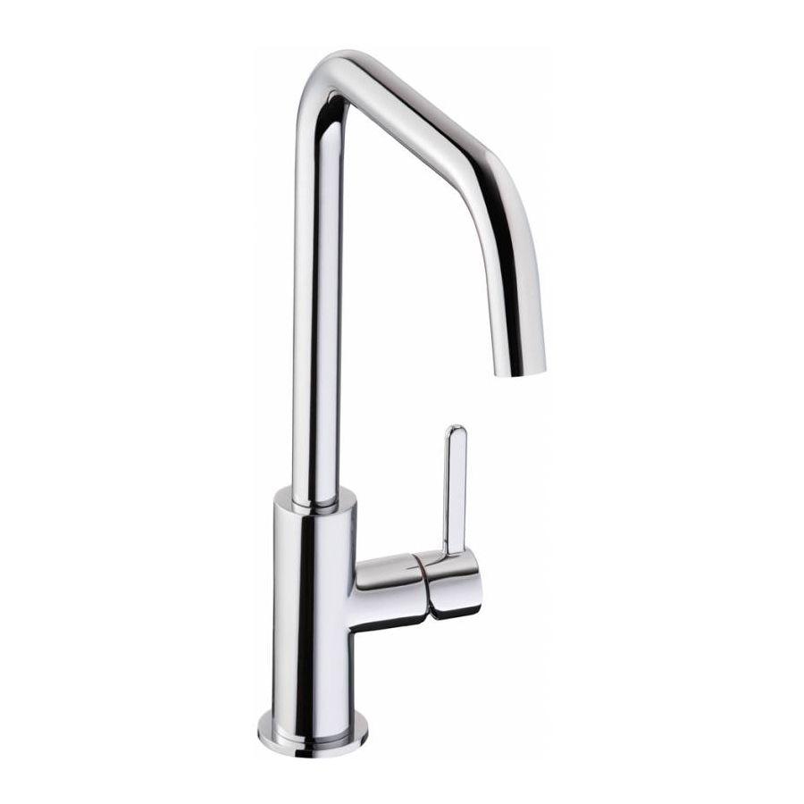 Sinks And Taps Kitchen Abode althia single lever kitchen tap sinks taps abode althia single lever kitchen tap in chrome workwithnaturefo