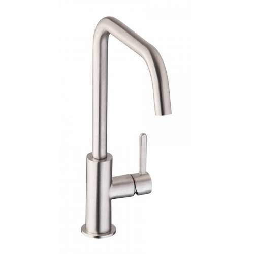 Abode Althia Single Lever Kitchen Tap in Brushed