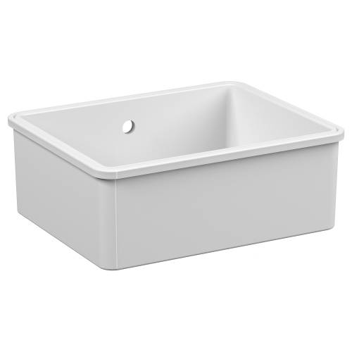 Reginox MATARO Single Bowl Ceramic Undermount Kitchen Sink
