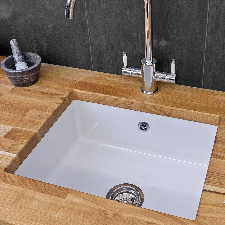 Reginox Mataro Single Bowl Ceramic Sink Sinks Taps Com