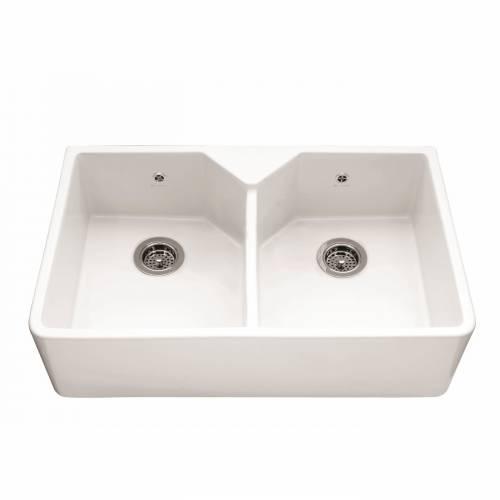 Caple CHEPSTOW Double Bowl Ceramic Sink