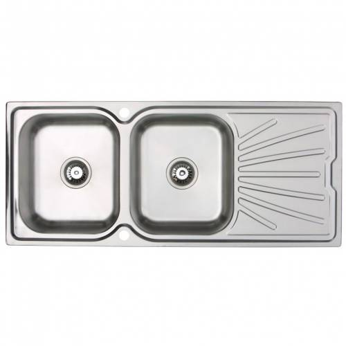 Bluci RUBUS 200 Stainless Steel 2.0 Bowl Kitchen Sink