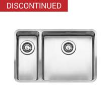 Reginox OHIO 40x40+18x40 1.5 Bowl Kitchen Sink - R17593