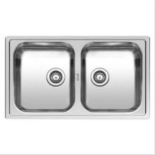 Reginox CENTURIO L20 Double Bowl Kitchen Sink - R21453