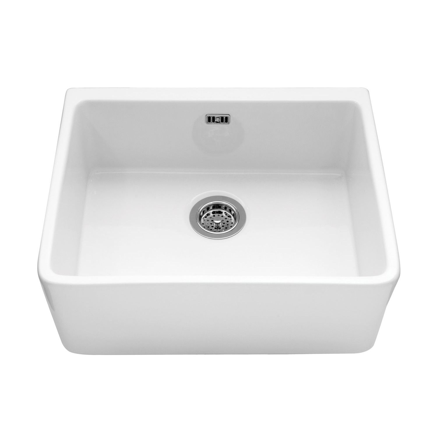 YORKSHIRE Belfast Sink with Chrome Waste - Sinks-Taps.com
